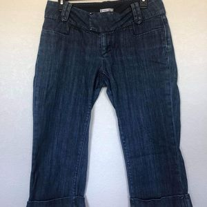 Banana Republic cropped denim size 4